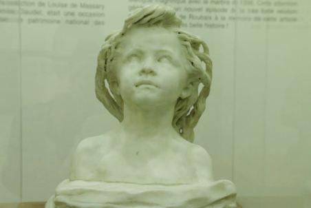 La petite chatelaine Camille Claudel Musée de la Piscine de Roubaix