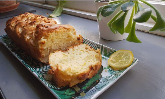 Cake pommes citron 1
