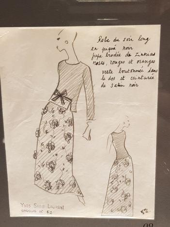 Musée Yves St Laurent Paris 6