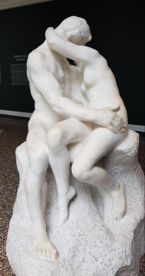 Musée Glyptotek 13 le baiser de Rodin à Copenhague