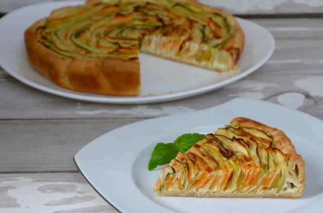 Tarte spirale courgettes&carottes
