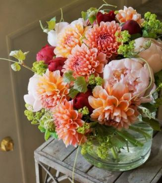 Bouquet de Dahlia Pinterest 1